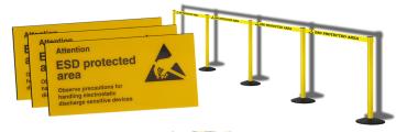 ESD-Schutzzone