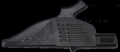 Crocodile clip black