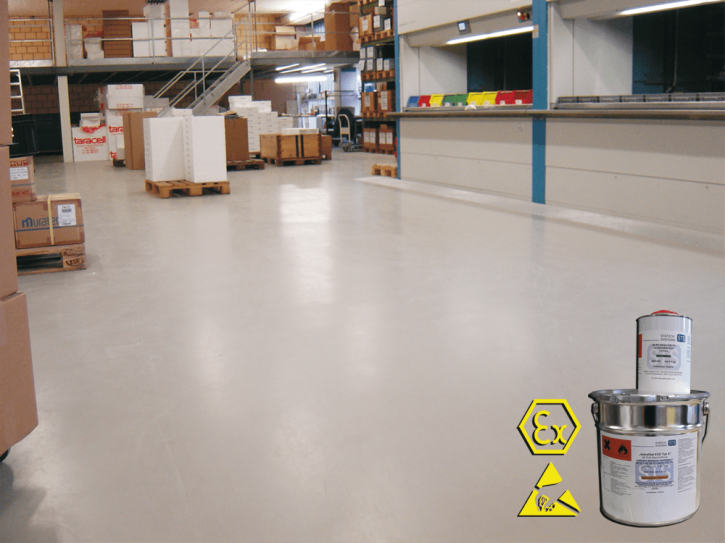 AstraStat ESD type A, dissipative floor paint