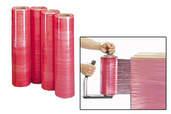 Antistatic strech film