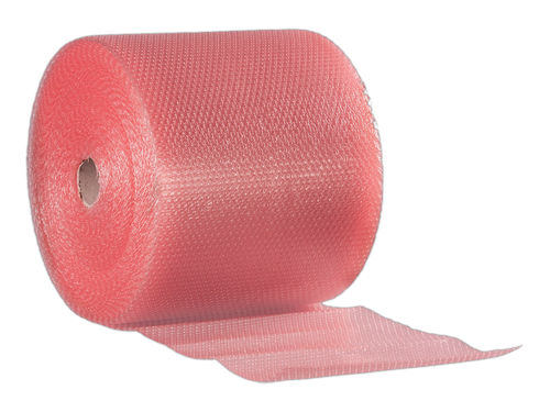 Antistatic bubble wrap