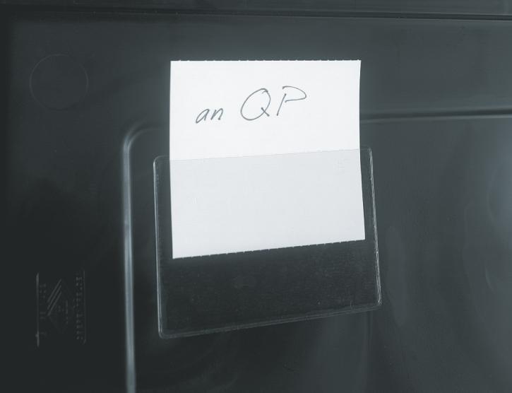Selbstklebende Etikettentasche, 83x115mm