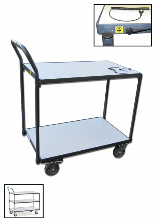 ESD transport trolley