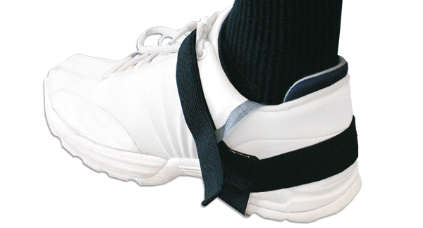 Heel grounders with velcro straps