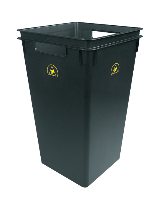 ESD waste bin, □=33cm / height=53cm