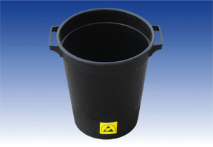 ESD waste bin, Ø=26.5cm / height=31.2cm