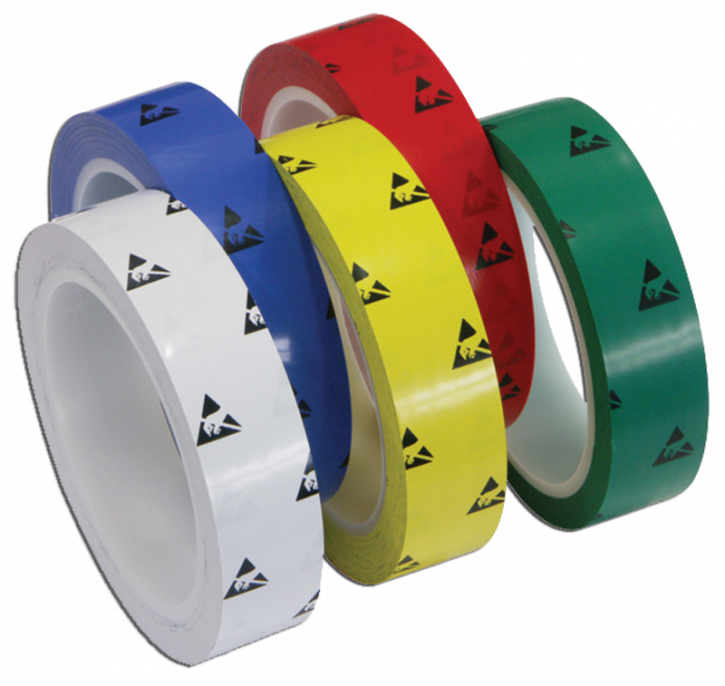 ESD marking tapes