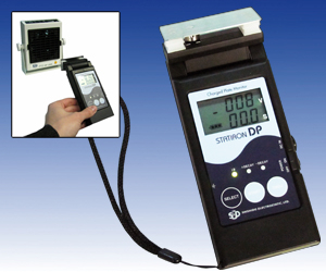 Charged Plate Monitor in pocket size, Type Statiron DP