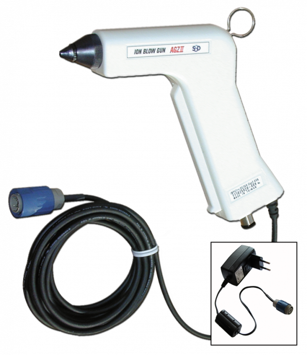 "Ionizing gun ""CleanGun"", white (type AGZ-3)"
