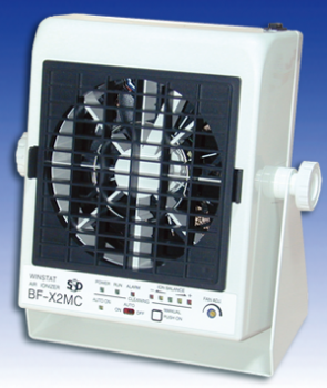 Ionizing air blower with self-control and automatic cleaning (type BF-X2MC)