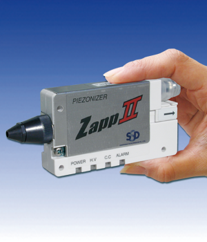 "Ionizing nozzle ""CleanJet"" credit card sized with standard nozzle"