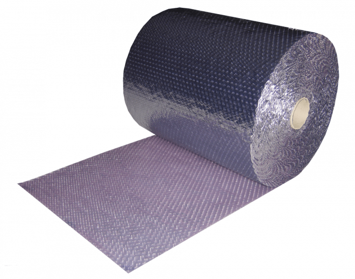 Metallized shielding bubble roll, 450mm x 200m