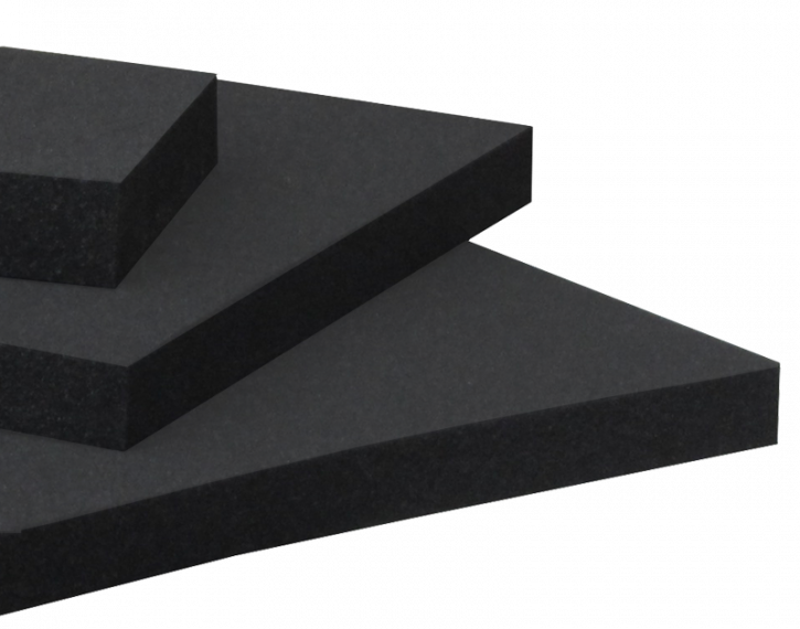 PUR soft foam, permanently conductive
