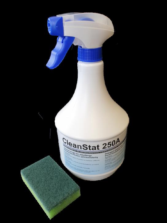 """Spezialreiniger """"CleanStat 250A"""", gebrauchsfertig, 3x1L Flaschen"""