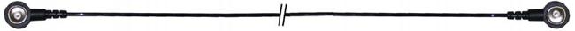 Kabel gerade 5m, 10mm(w)/10mm(w), 2MΩ