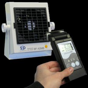 Charged Plate Monitor im Taschenformat, Typ Statiron DP